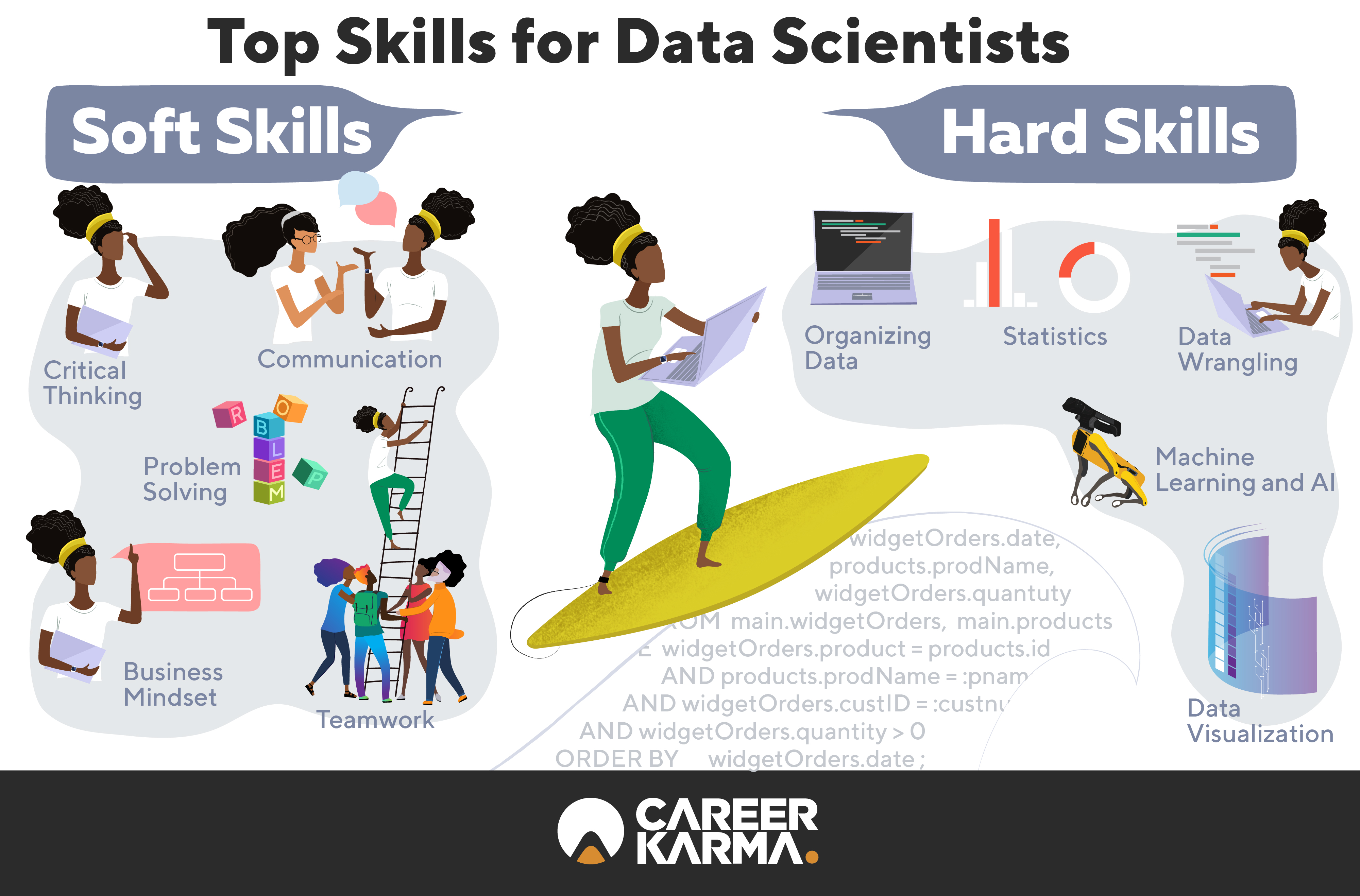 Data science infographic